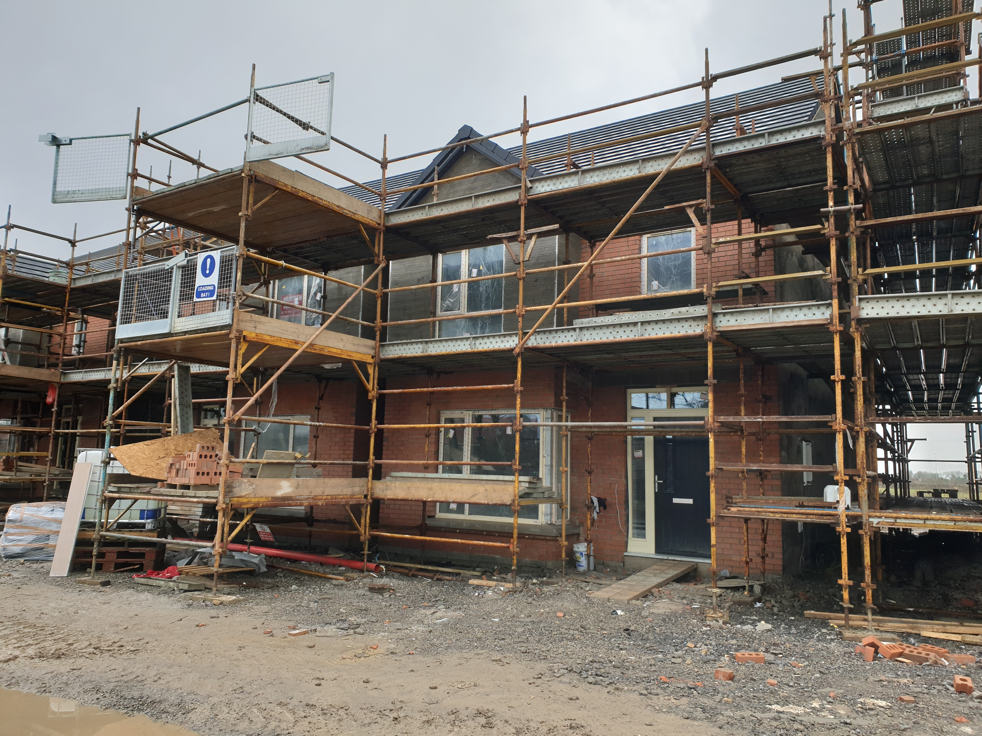 Derrin Homes - Silzury Near Completion